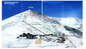 Southwest Colorado Map by El Colorado Farellones Skimap Org