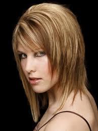 medium razored hairstyle women medium haircut
