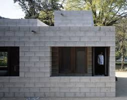 Building A Concrete Block House Silent House Takao Shiotsuka Atelier Silent House Verandas