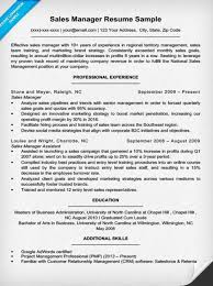 Sample Resume For Senior Manager by Example Of Sales Resume Sales Manager Resume Examples Google