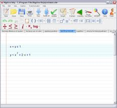 Step   Let Algebra Solver place the system of two linear inequalities in standard form  and graph it  algebra solver