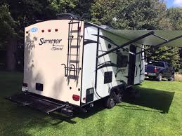 new or used forest river surveyor travel trailer rvs for sale