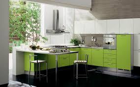kitchen fresh light green l shape kitchen cabinets nice