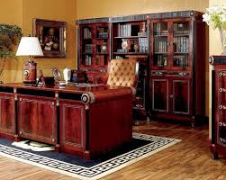 Solid Oak Office Furniture by Solid Wood Home Office Furniture The Best Wood Furniture