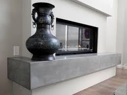 vc studio inc concrete fireplace mantle