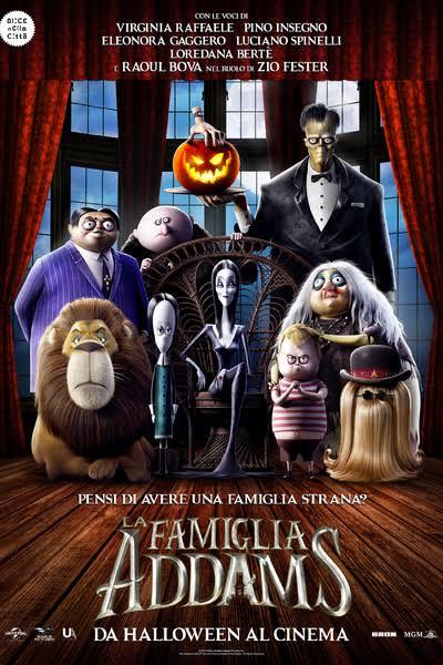 Risultati immagini per film la famiglia addams al cinema