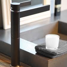 black mat designer bathroom faucet