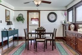 Dining Room Ceiling Fan by Craftsman Dining Room With Ceiling Fan U0026 Carpet In Colton Ca