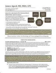 Healthcare Executive Resume Writing Service