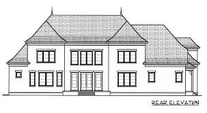 French Style Floor Plans Bordeaux Plan 4450 Edg Plan Collection
