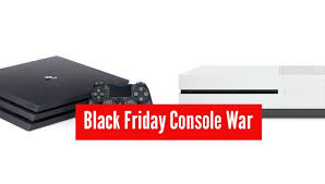 black friday deals on ps4 one and sony ps4 console war coming to black friday 2016