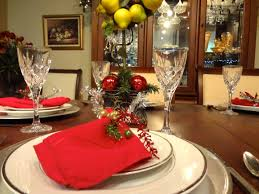 simple design concept for christmas banquet decorating ideas with