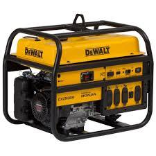 powermate 5 000 watt gasoline powered manual start portable