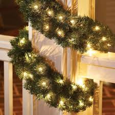 Decorative Garlands Home by Decorating Awesome Christmas Decorating Idea With Pretty Pre Lit