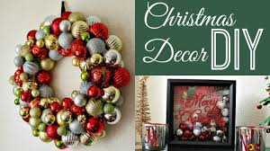 Christmas Decorations Diy by Diy Christmas Decorations Collab Dazzledust08 Youtube