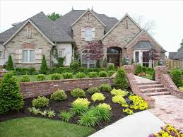 Rancher Style Homes Ranch Yard Landscaping Ideas For Ranch Style Homes Pictures Home