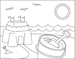 summer coloring pages printable fablesfromthefriends com