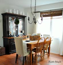 rustic maple our farmhouse lakehouse dining room and plans