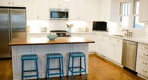 red oak wood natural shaker door kitchen islands and carts