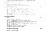 Scholarship Resume Examples by Download Scholarship Resume Template Haadyaooverbayresort Com