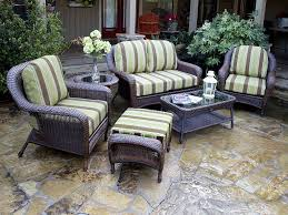Lowes Patio Furniture Sets by Wonderful Brown Patio Chairs Designs U2013 Brown Wicker Swivel Patio