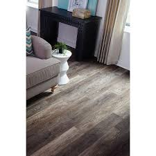 Floating Floor Lowes Shop Stainmaster 10 Piece 5 74 In X 47 74 In Washed Oak Umber