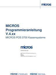 18 3700 pos micros user manual programming pdf 45619 micros