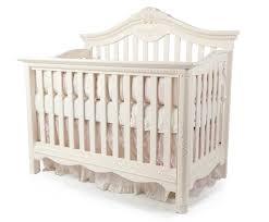 Legacy Convertible Crib by Savannah Lifetime Convertible Crib In Linen White By Munire