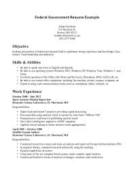 Resume Samples For Jobs In Usa by Usa Jobs Resume Template Resume For Your Job Application