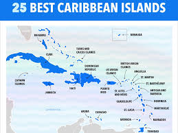 Map Of Western Caribbean by Best Caribbean Islands Chart Business Insider