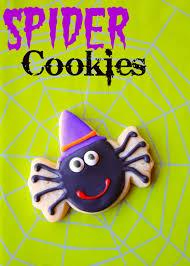 munchkin munchies spider cookies