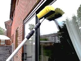 all pro window cleaning 17 foot water fed extendable telescopic window cleaning pole