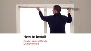 bali blinds how to install corded vertical blinds outside