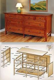 Bedroom Set Plans Woodworking Dresser Plans Furniture Plans And Projects Woodarchivist Com