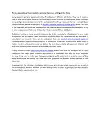 Plastic Surgery Residency Personal Statement
