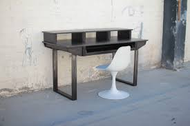 Custom Studio Desks by Hand Crafted Studio Desk For Audio Video Production W Keyboard