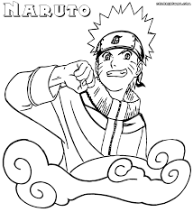 naruto coloring pages coloring pages to download and print