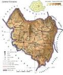 Judetul Covasna - Harta Romaniei