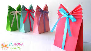 crafts paper gift bag easy video dailymotion