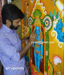 Mural Painting Sketches by Mural And Oil Paintings By Vipin Iritty On Behance