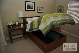 Make A Platform Bed With Storage by The Original Storage Bed Lift U0026 Stor Beds