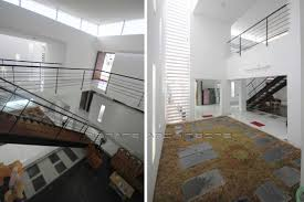 double height courtyard innate architects in madurai india