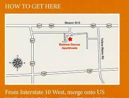 Baldwin Park Orlando Map by Baldwin Groves