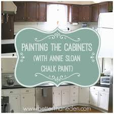 Chalk Paint For Kitchen Cabinets Painting The Cabinets Jpg