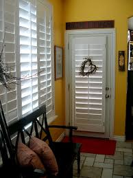 hmmmm nerver thought about using plantation shutters for the