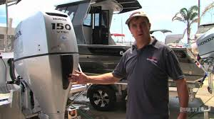 how to flush a honda outboard motor youtube