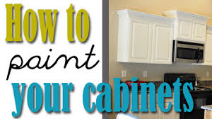 How To Paint Your Kitchen Cabinets Professionally All Things - Can you paint your kitchen cabinets