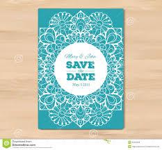 Printable Invitation Card Stock Wedding Invitation Card Template Stock Vector Image 53930656