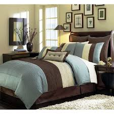 chocolate brown and blue bedding sets brown comforter brown and