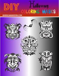 Halloween Masks Printables Kidscanhavefun Blog Kids Activities Crafts Games Party